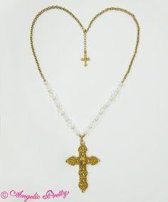 Angelic Pretty Brilliant Crossネックレス
