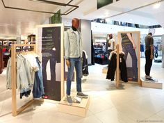 f74abbb5b64 FormRoom for Levi's | John Lewis' Pop-Up Concession Spaces | #Levis #