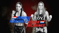 Ilona Wijmans (The Netherlands) vs Denise Kielholtz (The Netherlands) | kick boxing muai thai