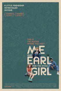 Eu, Você e a Garota Que Vai Morrer - Poster / Capa / Cartaz - Oficial 1