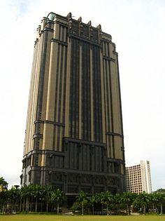 Deco office building, Singapore.