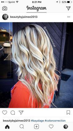 Gorgeous Blondies ndebcolormelt bayalage!