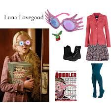 luna lovegood outfits