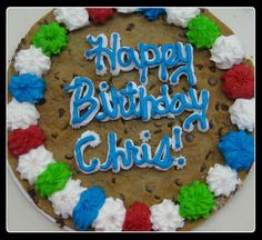 Birthday Ideas Cake Cookies, Cupcakes, American Cookie, Cookie Pie, Facebook Sign Up, Birthday Ideas, Desserts, Baking, Food