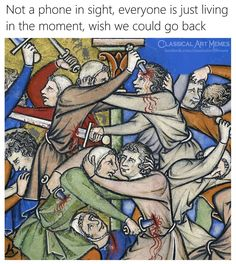 """17 Medieval Memes That'll Make You Wonder What In The Flying F*ck Was Going On Back Then - Funny memes that """"GET IT"""" and want you to too. Get the latest funniest memes and keep up what is going on in the meme-o-sphere. Lol So True, Disney Memes, Big Kids, Diy Poster, Medieval Memes, Medieval Art, Haha, Art History Memes, Classical Art Memes"""