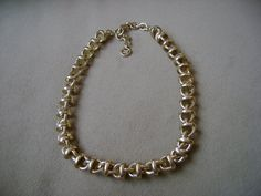 Vintage Givenchy Gold Necklace 1980s by truthorwear on Etsy, $155.00