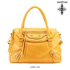 Royal LIZZY Couture Porter Chance Tote with Zipper Accents - Assorted Colors $39.00
