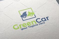 Green Car Logo by REDVY on @creativemarket