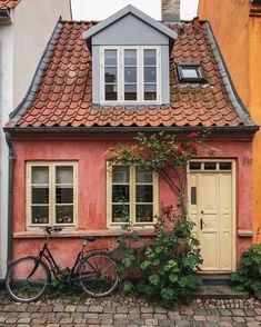 Beautiful Buildings, Beautiful Homes, Beautiful Places, Cute House, My House, Exterior Design, Interior And Exterior, Wallpaper Bonitos, My Dream Home