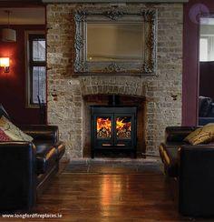 inismor mk ii boiler stove - reclaimed brick detail to chimney breast?