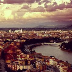 Un panorama mirabolante della nostra amata città: #Pisa
