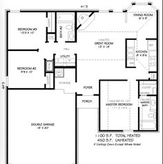 1100 sq ft house plans | nsc28443a (1158 sq ft) | home layouts