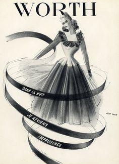 Worth (Perfumes) 1943 Jean Colin