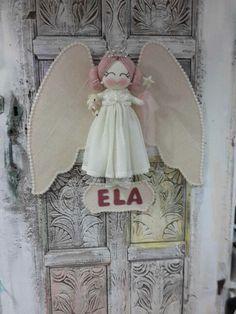 Angel melek  Melegineli atölye Baby  name banner