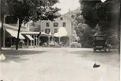 Kittatinny House, Delaware Water Gap, Pennsylvania, 1908 Glidden Tour