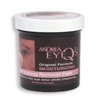 ANDREA EyeQs Moisturizing Eye Make Up Remover Conditions the Eye Area while Cleansing (Quantity: 65 Pads) $0.10