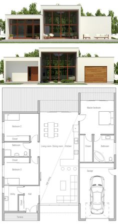 Modern Contemporary Home Plan