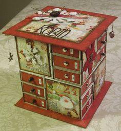 Mariannes hobby: Fyrstikk kalender