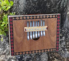 """West African-style bass """"thumb piano"""" (gongoma)     FREE DOMESTIC SHIPPING by PanAfricanArts on Etsy"""