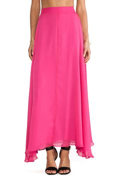 Naven Maxi Skirt in Pink