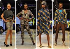 Tigo Glitz Africa fashion week in Ghana fabs and faux - ABINA