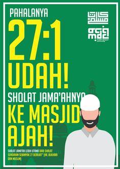 Desain PosterDakwah  Karya Kata Muslim 9