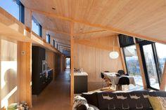 Dom Haugen, Kikut, Geilo, Lund Hagern Arkitekter 2008 #modernistyczny #dom #modern #home