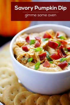 This Savory Pumpkin Dip recipe is simple to make, and always a crowd-pleaser!