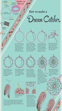 Step by Step instructions On How To Make A Dream Catcher!