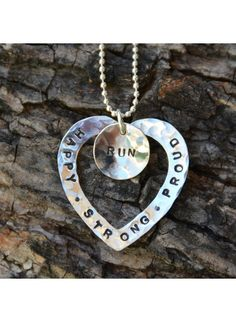 Running Charms - Happy. Strong. Proud. -The Silver Maple