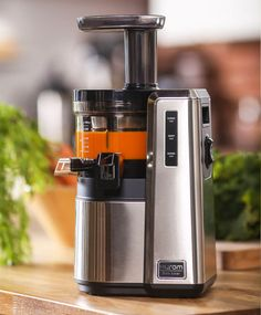 Win a Hurom HZ Slow Juicer by 10/15.