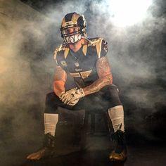 The Captain. James Laurinaitis. St. Louis Rams