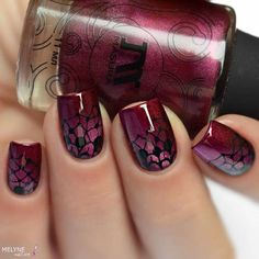 burgundy nails Burgundy Nail Art Polish Ideas to Copy in 2018 Wedding Gown Guide: Why Burgundy Nail Polish, Opi Nail Polish Colors, Gel Polish, Acrylic Nail Salon, Toe Nail Art, Pedicure Colors, Manicure And Pedicure, Pedicures, Wedding Manicure