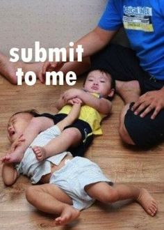 If you had older brothers, you know exactly what a sleeper hold, choke hold, and armlock feels like.