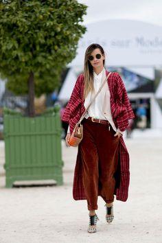 Street style : 50 nuances d'automne à la Fashion Week de Paris   Le Figaro Madame