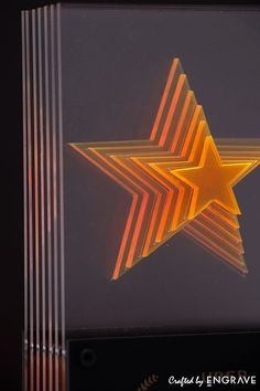 Uber Sixth Star Award on Behance Star Awards, Uber, Customized Gifts, Signage, Behance, Sculpture, Stars, Counter, Projects