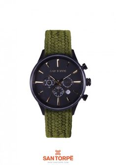 SHOP NOW> http://www.santorpe.com/index.php/allwatches/ae-b-green.html
