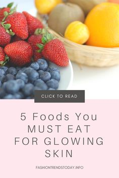 """Best Diet For Glowing Skin In 10 Days You maybe be wondering, """"how do I get clear skin? Glowing Skin Diet, Clear Skin Tips, Home Remedies For Hair, Hormonal Acne, Beauty Care, Diy Beauty, Beauty Tips, Beauty Hacks, Beauty Products"""