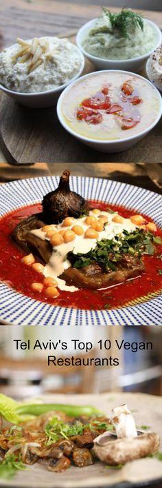 An array of vegan delights from Tel Aviv's hidden gem vegan hot spots.   http://theculturetrip.com/middle-east/israel/articles/tel-aviv-s-top-10-vegan-restaurants/