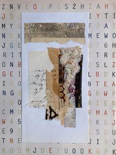 Collage from Rita McNamara, Salon de Refuse Studio.