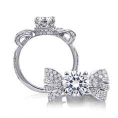 Ring by A. Jaffe--would love this with some pink sapphires for my right hand =)