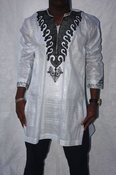 African men's shirt/top African Clothing by ChimziFashion on Etsy