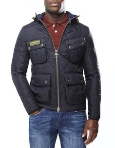 Barbour Quilted Paxton International Jacket