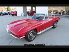 1965 Chevrolet Corvette Stingray Start Up, Exhaust, and In Depth Tour - YouTube