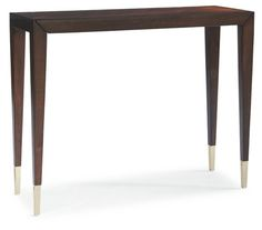"Gia 39"" Console Table, Espresso"