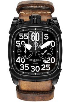 CT Scuderia Watch Scuderia Scrambler Chronograph Watch available to buy online from with free UK delivery. Armani Watches, Luxury Watches, Rolex Watches, Cool Watches, Watches For Men, Unique Watches, Scrambler, Watch Brands, Casio Watch