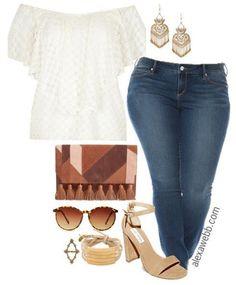 Plus Size Boho Outfit - Plus Size Fashion for Women - Alexawebb.com #alexawebb #plus #size