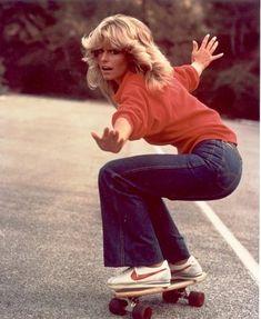 Farrah Fawcett, 1970s.