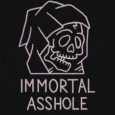 art Black and White tumblr Grunge skull artists on tumblr ...
