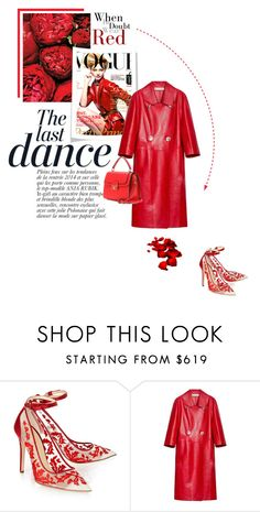 """""""Red"""" by theitalianglam ❤ liked on Polyvore featuring Anja, Alexander White, Marni, Dolce&Gabbana, women's clothing, women, female, woman, misses and juniors"""